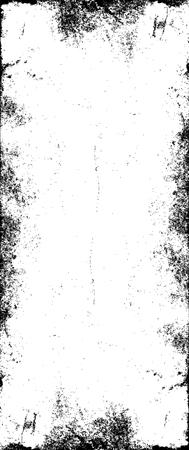 grunge frame: Grunge Frame Texture Illustration