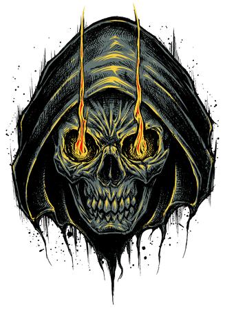 Grim Reaper vector. Ilustrace