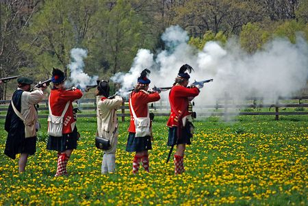 scot: soldiers under fire Stock Photo