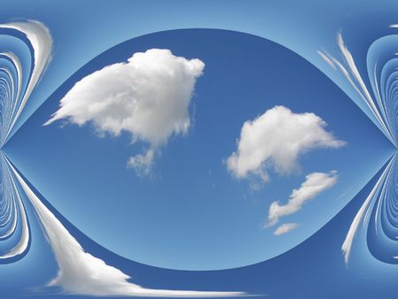 distort: clouds and sky design