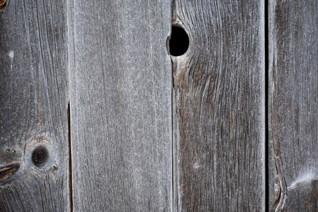 Old barn wood with holes. Stock Photo - 3217029