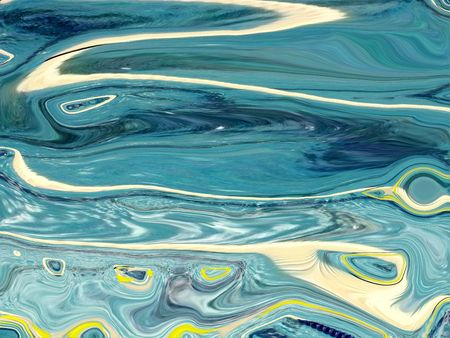 distort:      Turquoise abstract design of swimming pool water.