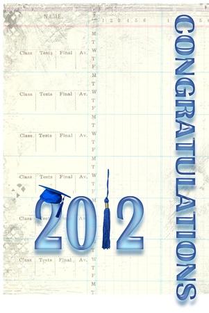 graduation for 2012 Фото со стока