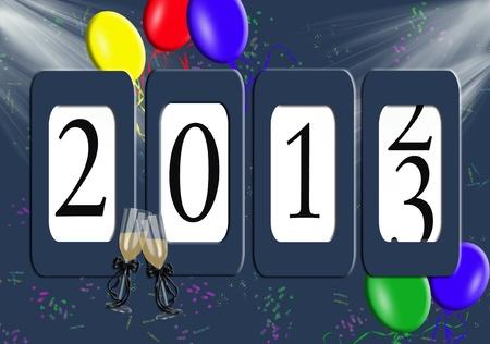Kilometerteller voor Eve 2013 New Year's