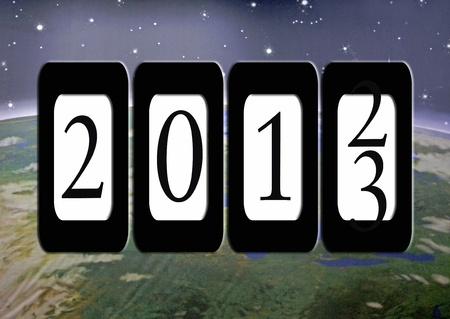 kilometerstand voor het jaar 2013