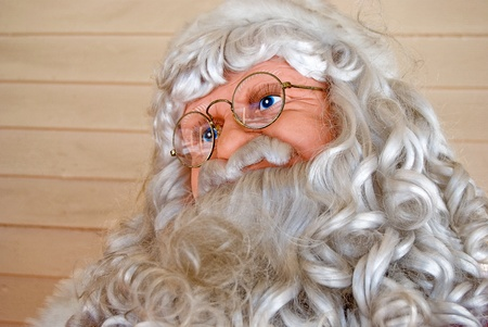 Old St  Nick with spectacles photo