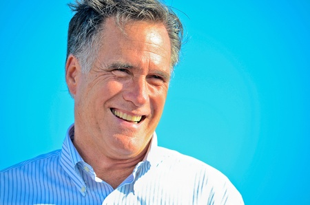 Mitt Romney, June 19, 2012, Campaign rally in Holland Editorial