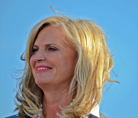 romney: Ann Romney,  June 19, 2012, Campaign rally in Holland, Michigan Editorial