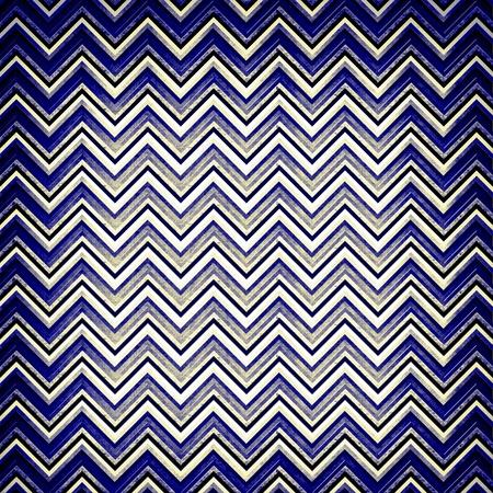 textured blue chevron design