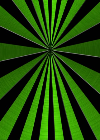 metallic groene ster barsten achtergrond Stockfoto