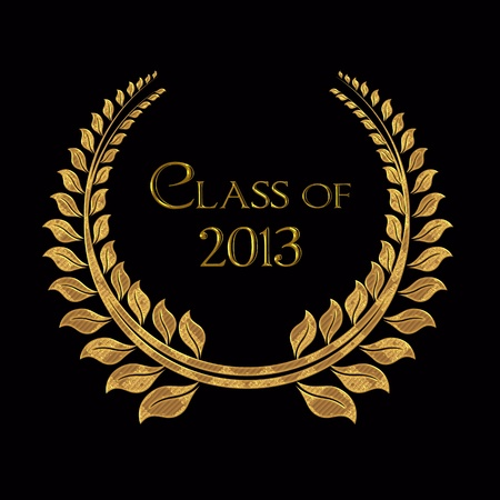 gold laurel for class of 2013