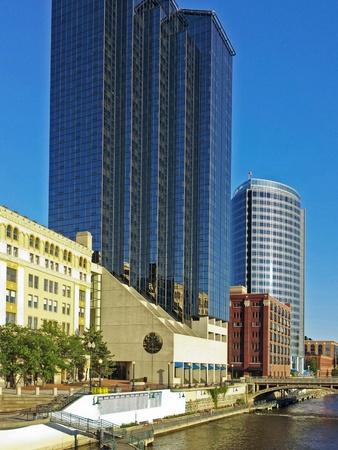 Grand Rapids, Michigan skyline Banque d'images