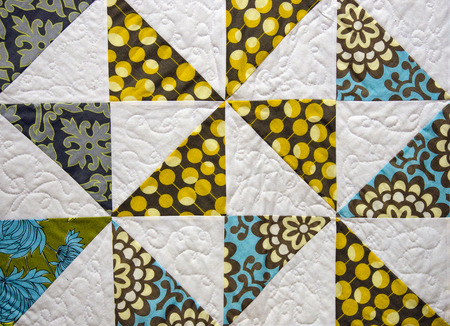 patchwork: patchwork quilt design Stock Photo