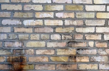 grungy: grungy brick wall
