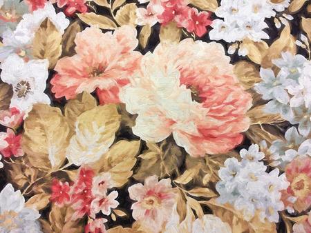 old-fashioned floral impressionism Stok Fotoğraf - 35947145