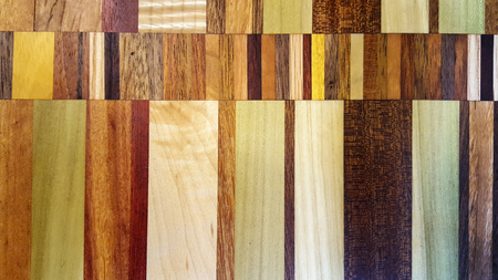 parquet wood pattern in variety of colors and texture