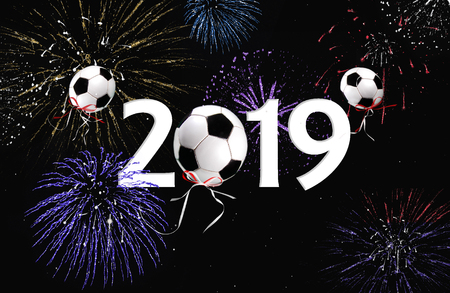 Image result for soccer ball with fireworks