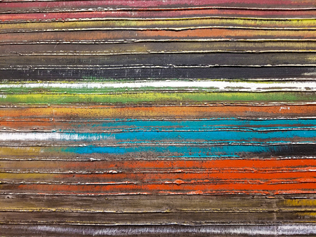 close up of horizontal stripe abstract pattern
