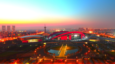 deportes olimpicos: Nanjing Centro Deportivo Olímpico