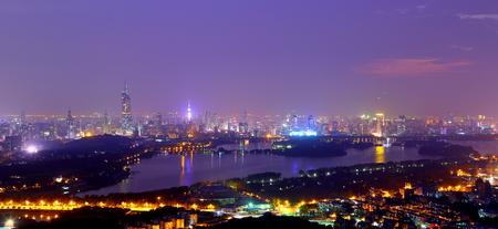 night scenery: Nanjing night scenery Stock Photo