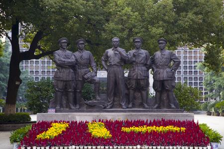 uprising: Nanchang Uprising statue