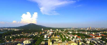 Nanjing City scenery Stock Photo
