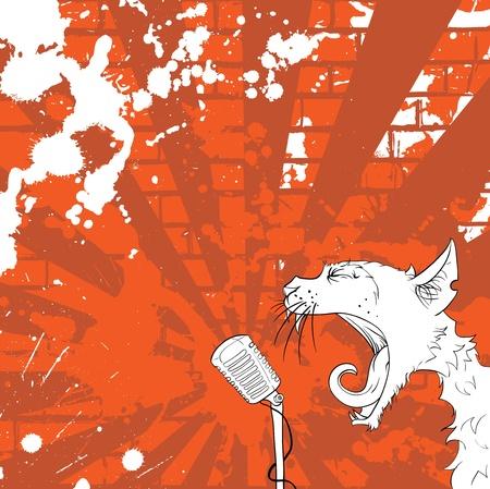 pop culture: cat singer