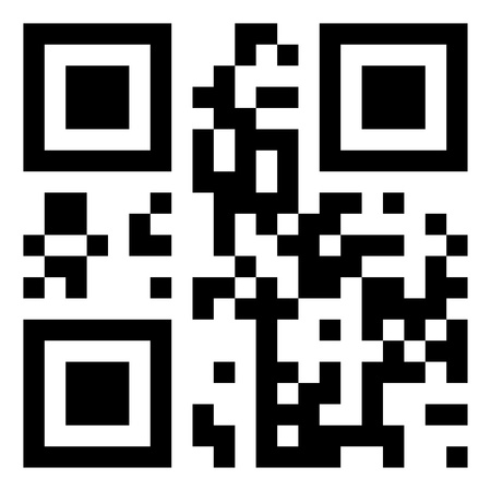 The code is encrypted word  QR-code  Vector