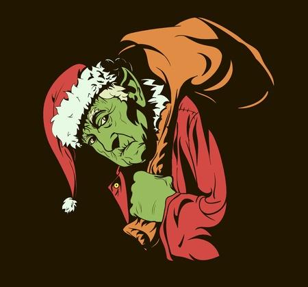 robo: Personajes de cuentos de hadas: ¿Cómo el Grinch robó la Navidad.