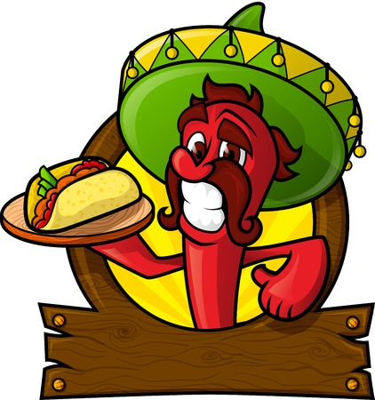 caricatura mexicana: Chili Cheesy