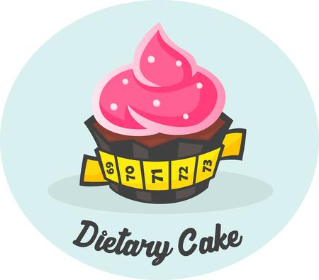 white yummy: Dietary Sweet Cake