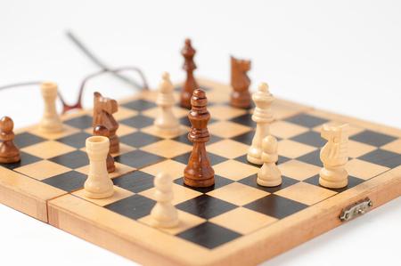 jugando ajedrez: Jugando ajedrez
