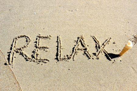 modulate: relax Stock Photo