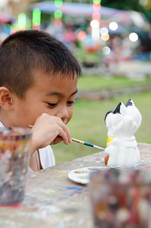 painting boy arttist