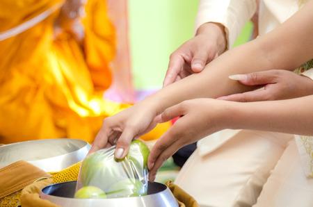 merit buddhism Stock Photo