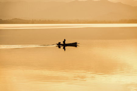 fisherman on the golden river