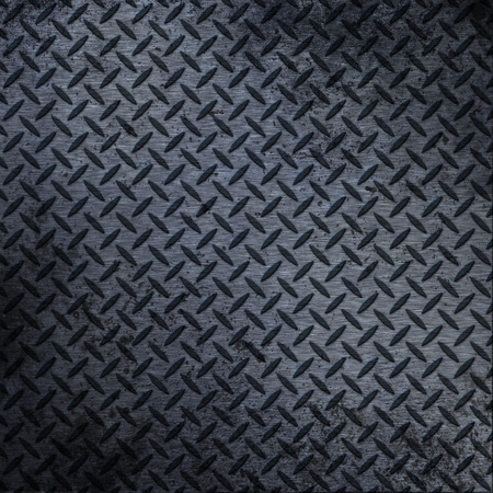 iron: Old iron background. metal texture plate with rhombus shape