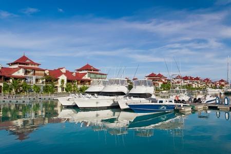 eden: Eden island, Seychelles Editorial