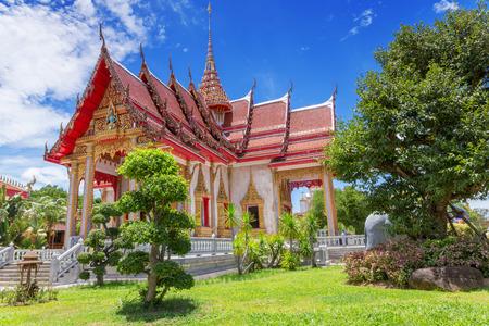 シャロン寺院、プーケット、タイ 写真素材