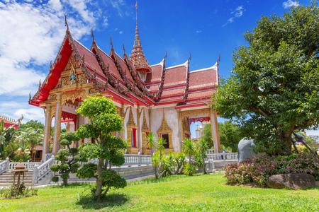 Chalong Temple, Phuket, Thailand photo