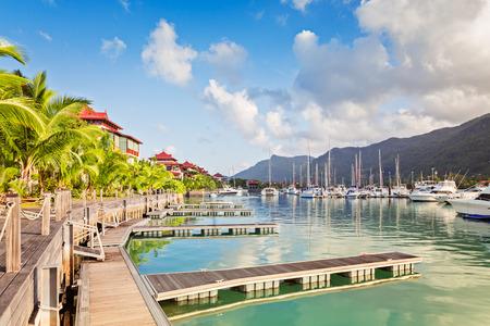 eden: Eden island, Mahe, Seychelles