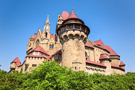 Burg Kreuzenstein is a castle near Leobendorf in Lower Austria, Austria.