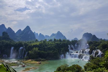 transnational: Transnational Detian Waterfall