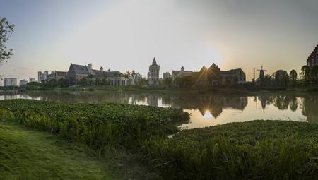 European style town