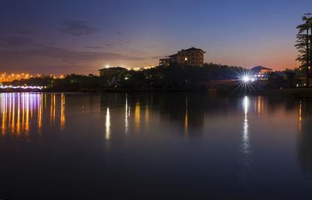 Five Elephant Lake Night view