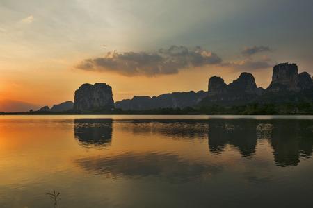 Mao Tong sunset scenery