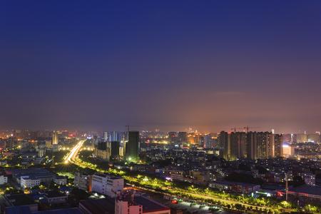 Nanning city night view