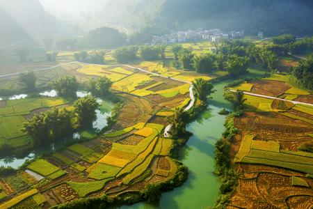 Donglan mountain pastoral scenery