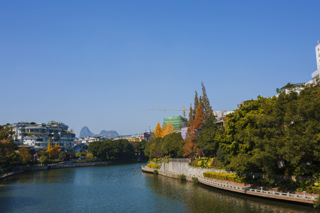 Autumn view of Guilin