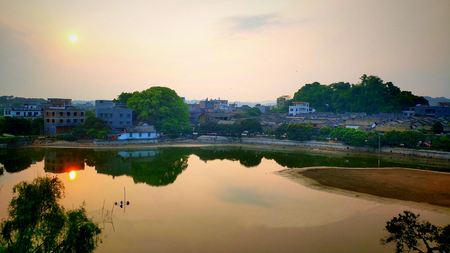 Dalu Village scenery Stok Fotoğraf - 119872463